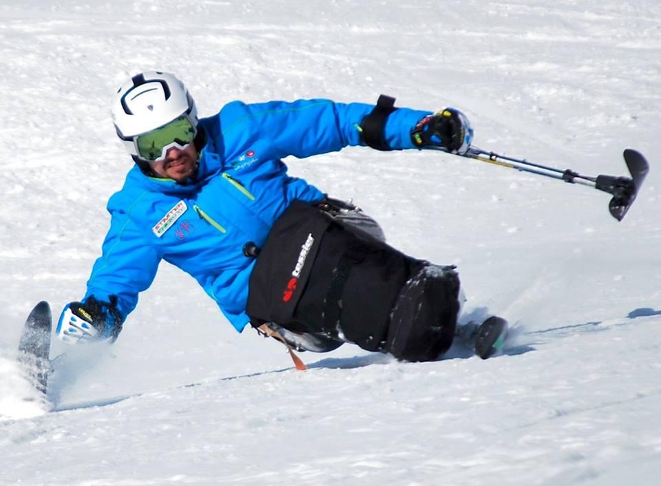 Mauro Bernardi, il primo maestro di sci disabile